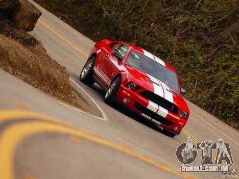 Telas de carregamento, no estilo do Ford Mustang para GTA San Andreas sexta tela