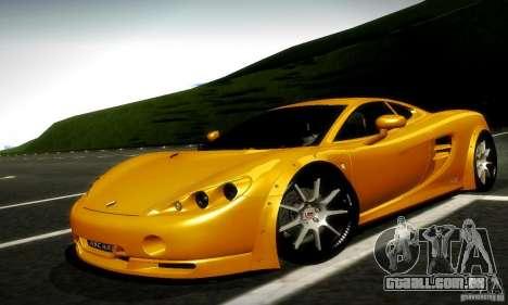 Ascari KZ1R Limited Edition para GTA San Andreas esquerda vista