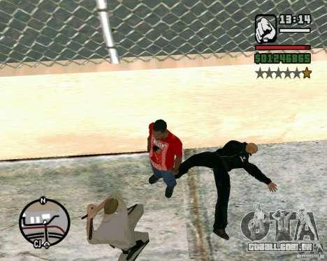 Dwayne The Rock Johnson para GTA San Andreas terceira tela