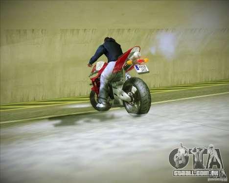 Honda CBR600RR 2005 para GTA San Andreas vista traseira