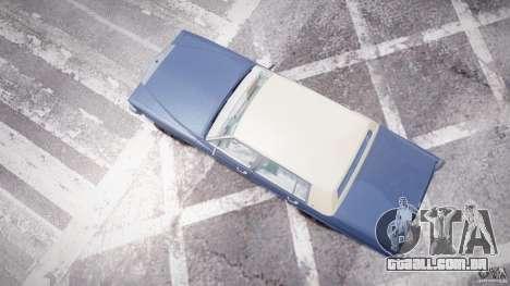 Cadillac Fleetwood Brougham 1985 para GTA 4 vista lateral