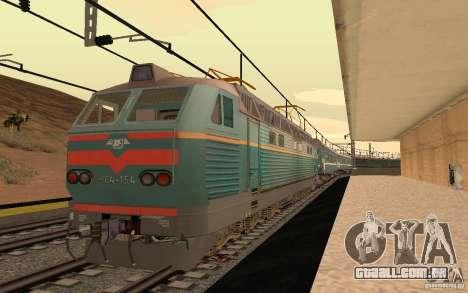FERROVIÁRIA mod II para GTA San Andreas quinto tela