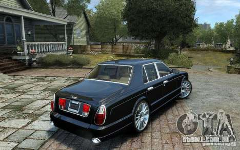 Bentley Arnage T para GTA 4 esquerda vista