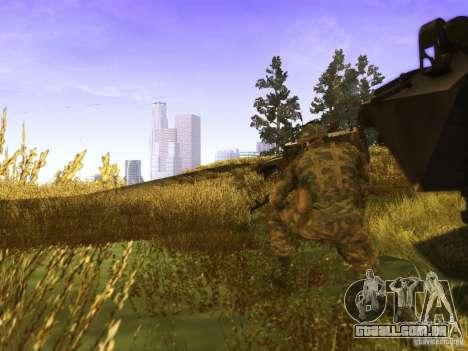 Uma pele de soldado russo para GTA San Andreas segunda tela