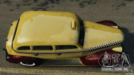 Shubert Taxi para GTA 4 vista direita