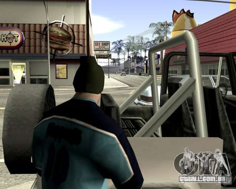 Tampa do sistema para GTA San Andreas twelth tela