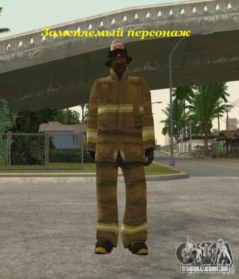 Peles de STALKER para GTA San Andreas quinto tela