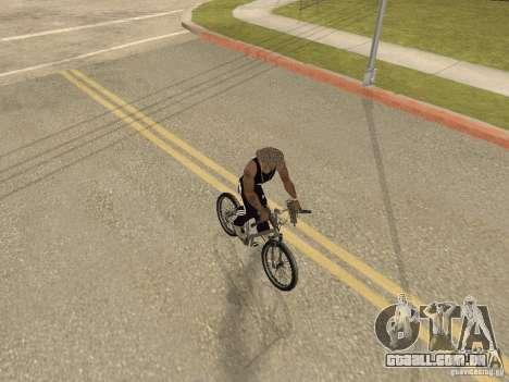 Ocultar-traz as armas no carro para GTA San Andreas terceira tela