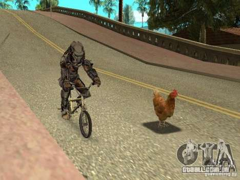 Patrulha de frango para GTA San Andreas terceira tela