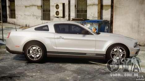 Ford Mustang V6 2010 Premium v1.0 para GTA 4 vista lateral