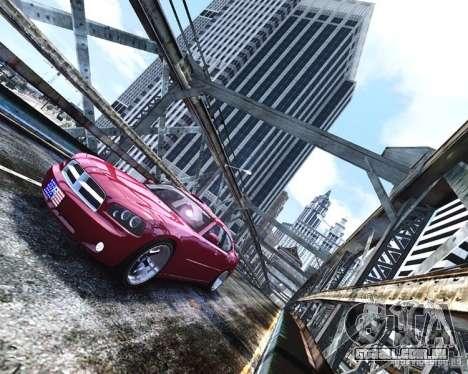 Dodge Charger RT 2006 para GTA 4 vista de volta