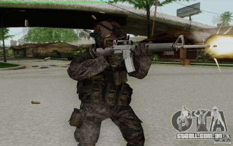 M16A2 para GTA San Andreas por diante tela