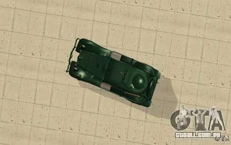 BA-20 para GTA San Andreas vista direita
