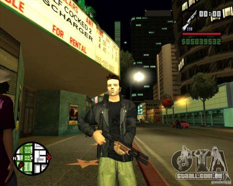Claude Speed beta4 para GTA San Andreas