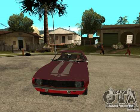 1969 Yenko Chevrolet Camaro para GTA San Andreas