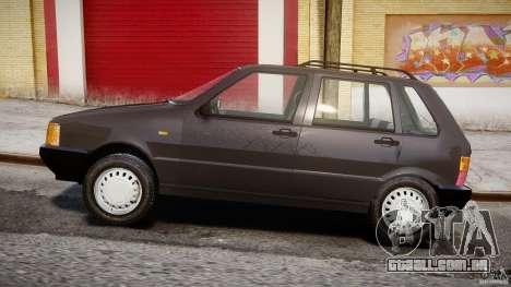Fiat Uno 70SX 1989-1993 para GTA 4 vista interior