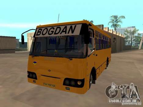 BOGDAN UM 09202 para GTA San Andreas