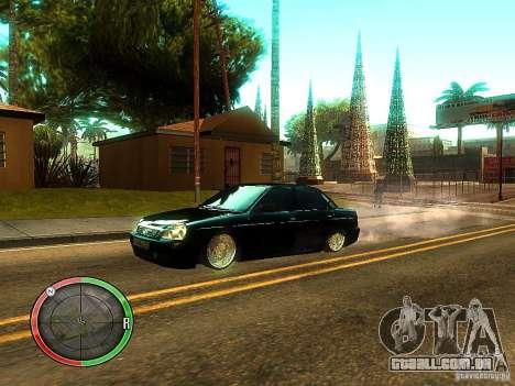 Lada Priora Dag Style para as rodas de GTA San Andreas
