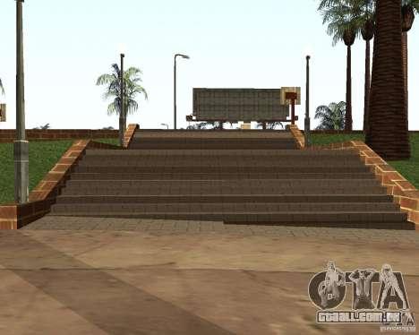 Textura da quadra de basquete para GTA San Andreas por diante tela