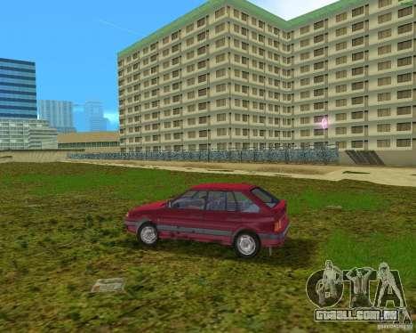 Lada Samara para GTA Vice City deixou vista