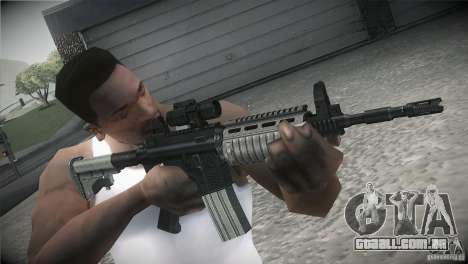 Weapon Pack by GVC Team para GTA San Andreas