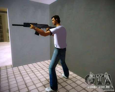 Saiga 12 k para GTA Vice City por diante tela