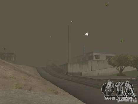Weather manager para GTA San Andreas nono tela