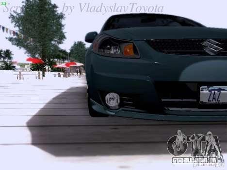 Suzuki SX4 Sportback 2011 para GTA San Andreas vista interior