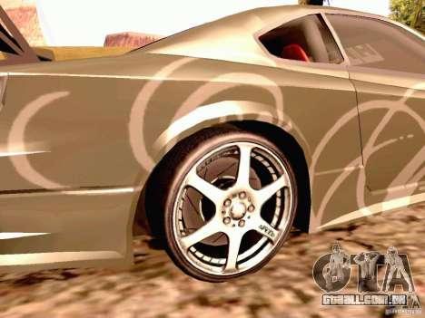 Nissan Silvia S15 By Blaze para GTA San Andreas traseira esquerda vista