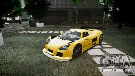 Gumpert Apollo Sport v1 2010 para GTA 4 esquerda vista