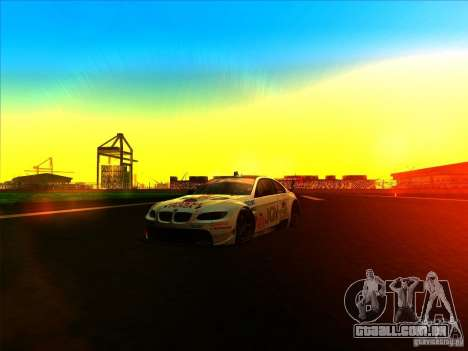 BMW M3 GT ALMS GT2 Series para GTA San Andreas vista interior