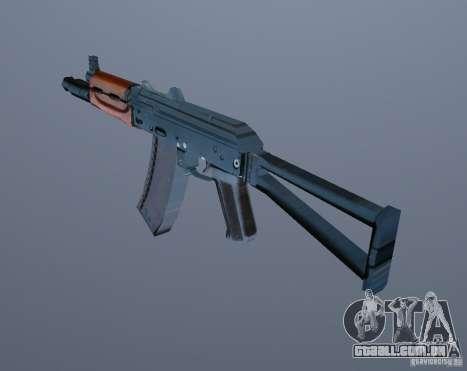 AK-74y para GTA Vice City terceira tela