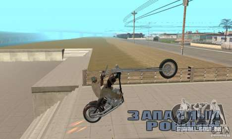 Desperado Chopper para GTA San Andreas vista direita