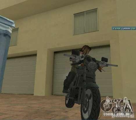 PCJ-600 em GTA IV para GTA San Andreas vista direita