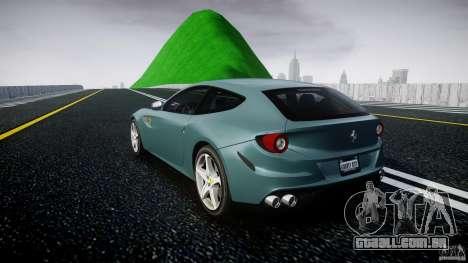 Ferrari FF 2012 para GTA 4 traseira esquerda vista