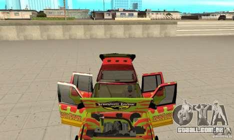 Ford Explorer (Jurassic Park) para GTA San Andreas vista interior