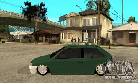 Volkswagen Gol v1 para GTA San Andreas esquerda vista