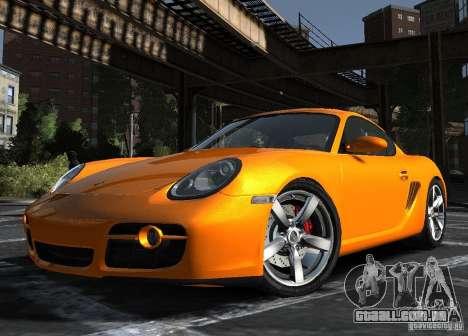 Porsche Cayman S1 para GTA 4 esquerda vista