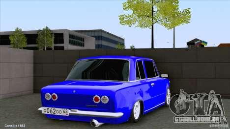 VAZ 2101 Coupe Loui para GTA San Andreas traseira esquerda vista