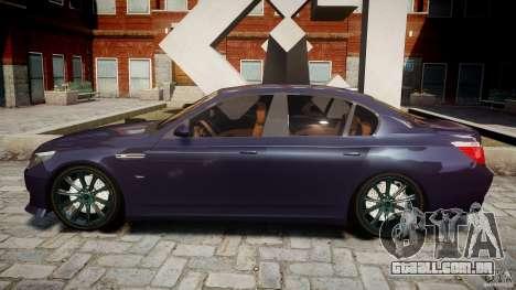 BMW M5 Lumma Tuning [BETA] para GTA 4 esquerda vista