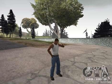 A capacidade de fumo para GTA San Andreas terceira tela