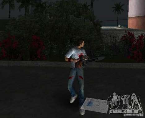 Serra elétrica para GTA Vice City quinto tela
