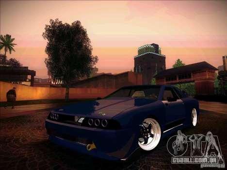 Elegy JDM Tuned para GTA San Andreas vista traseira