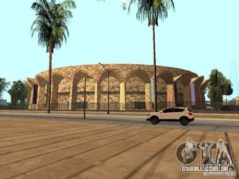 Um novo estádio em Los Santos para GTA San Andreas por diante tela