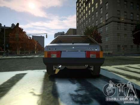 VAZ 2109 para GTA 4 traseira esquerda vista