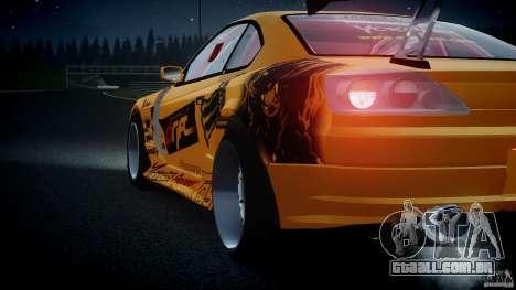 Nissan S330SX GT Drift Texture para GTA 4 vista lateral