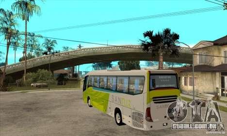 Marcopolo Viaggio G7 1050 Santur para GTA San Andreas traseira esquerda vista