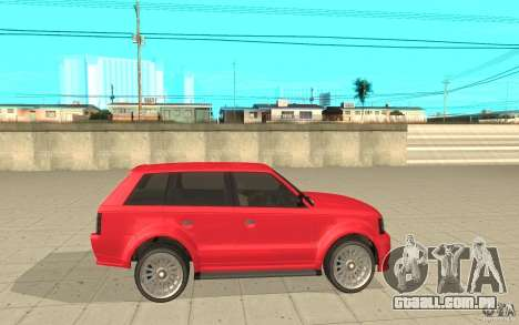 Huntley Sport de GTA 4 para GTA San Andreas esquerda vista