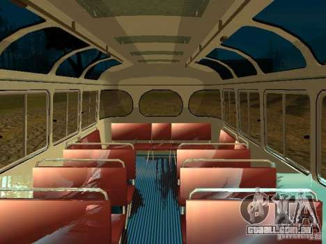 GROOVE versão 672.60 para GTA San Andreas vista interior