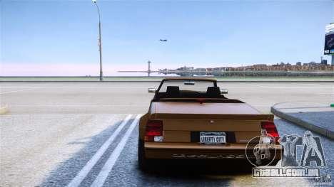 Sabre Convertible para GTA 4 traseira esquerda vista
